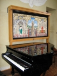 Piano in the chapel